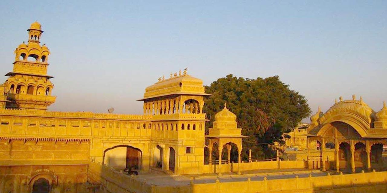 Badal Palace and Tazia Tower, Jaisalmer