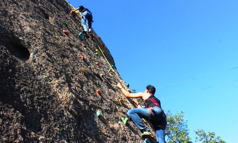 Rock Climbing at Mt. Abu