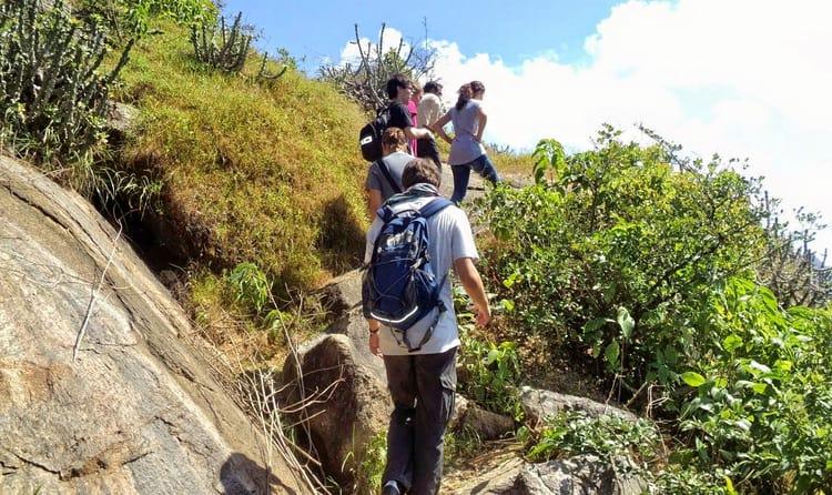 Trekking at Mt. Abu