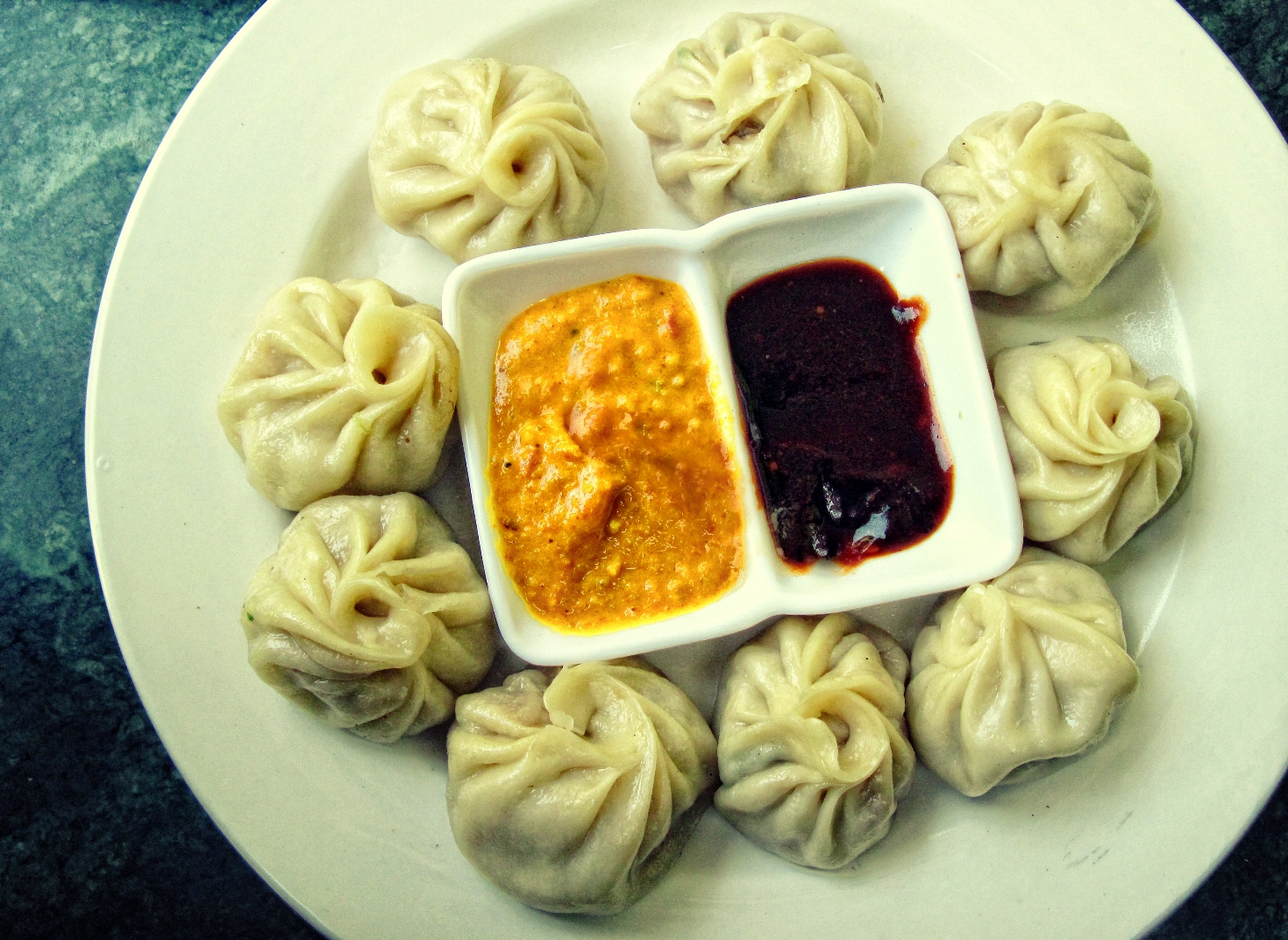 Delectable Food Momos , Nainital