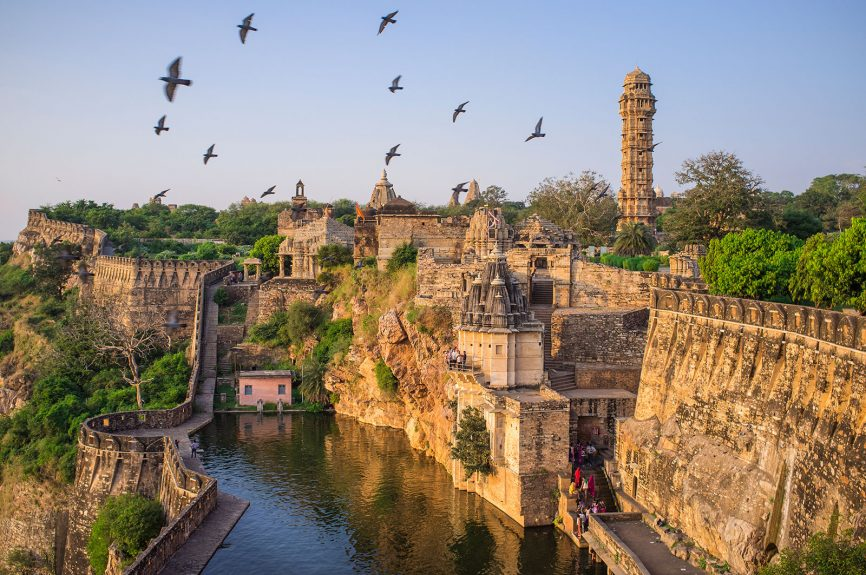 Chittor Fort of Chittorgarh