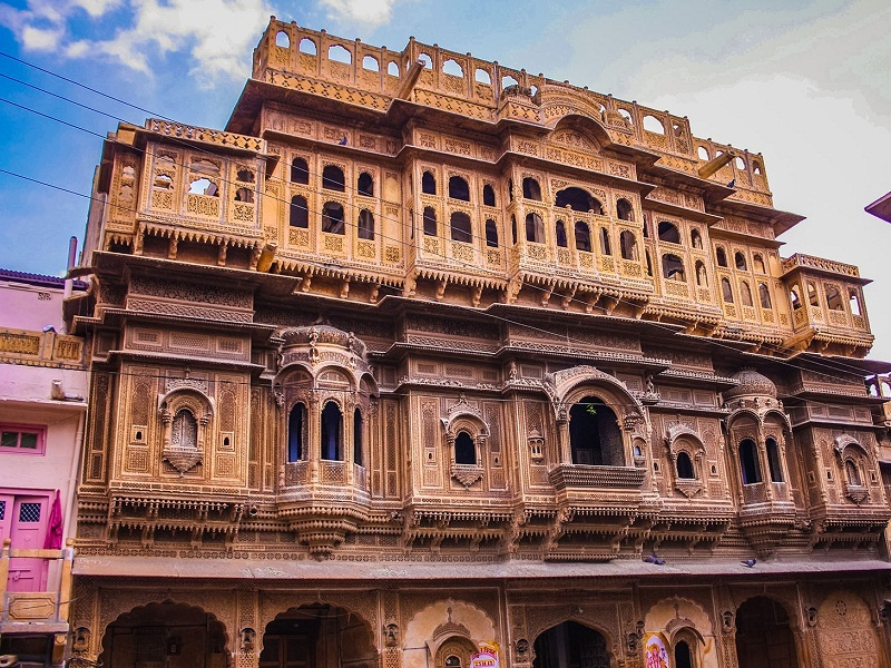 Nathmal ki Haveli of Jaisalmer