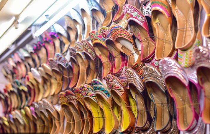 Shopping at Dilli Haat
