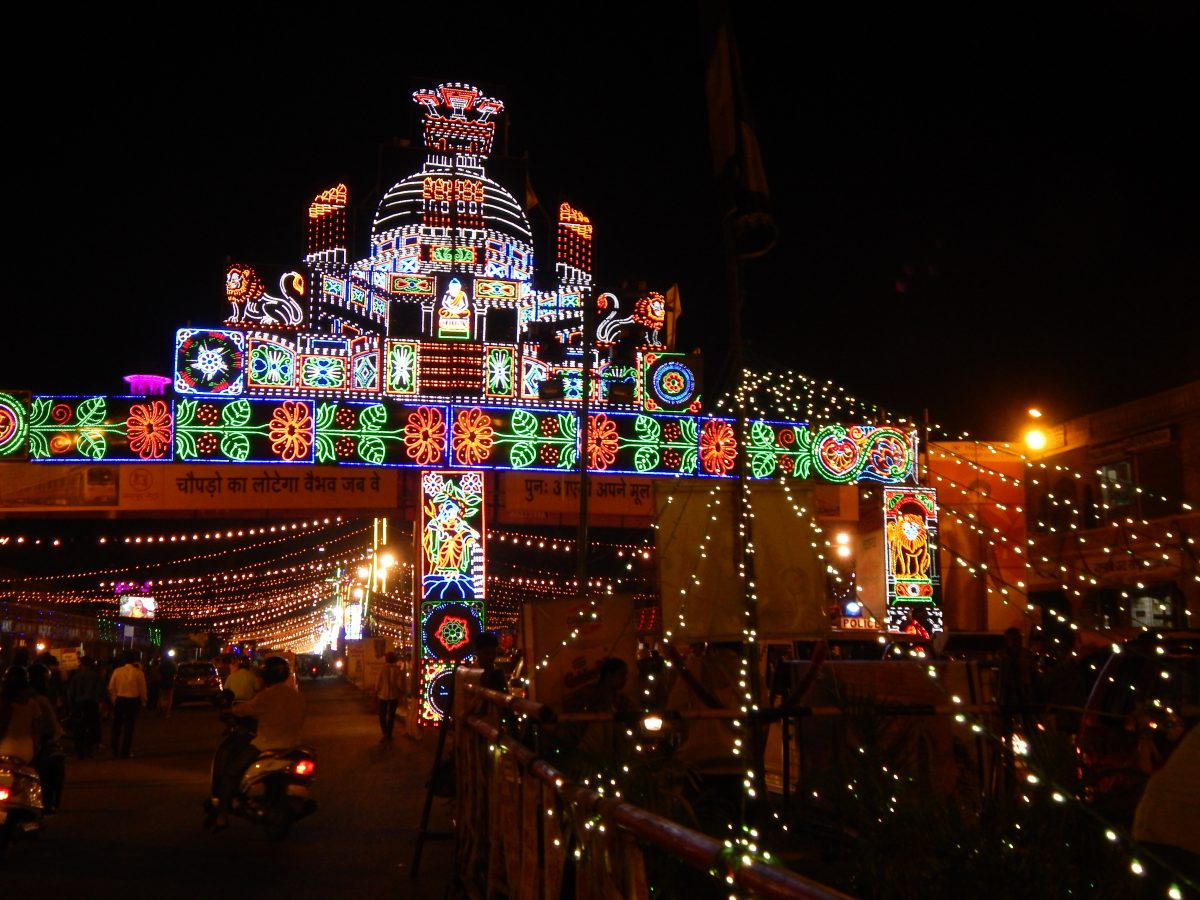 Top places for Diwali celebration in India