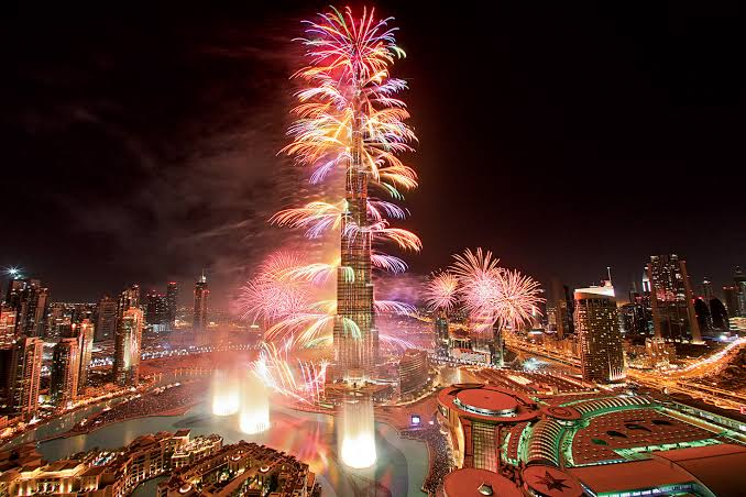 New Year Celebrations in Dubai