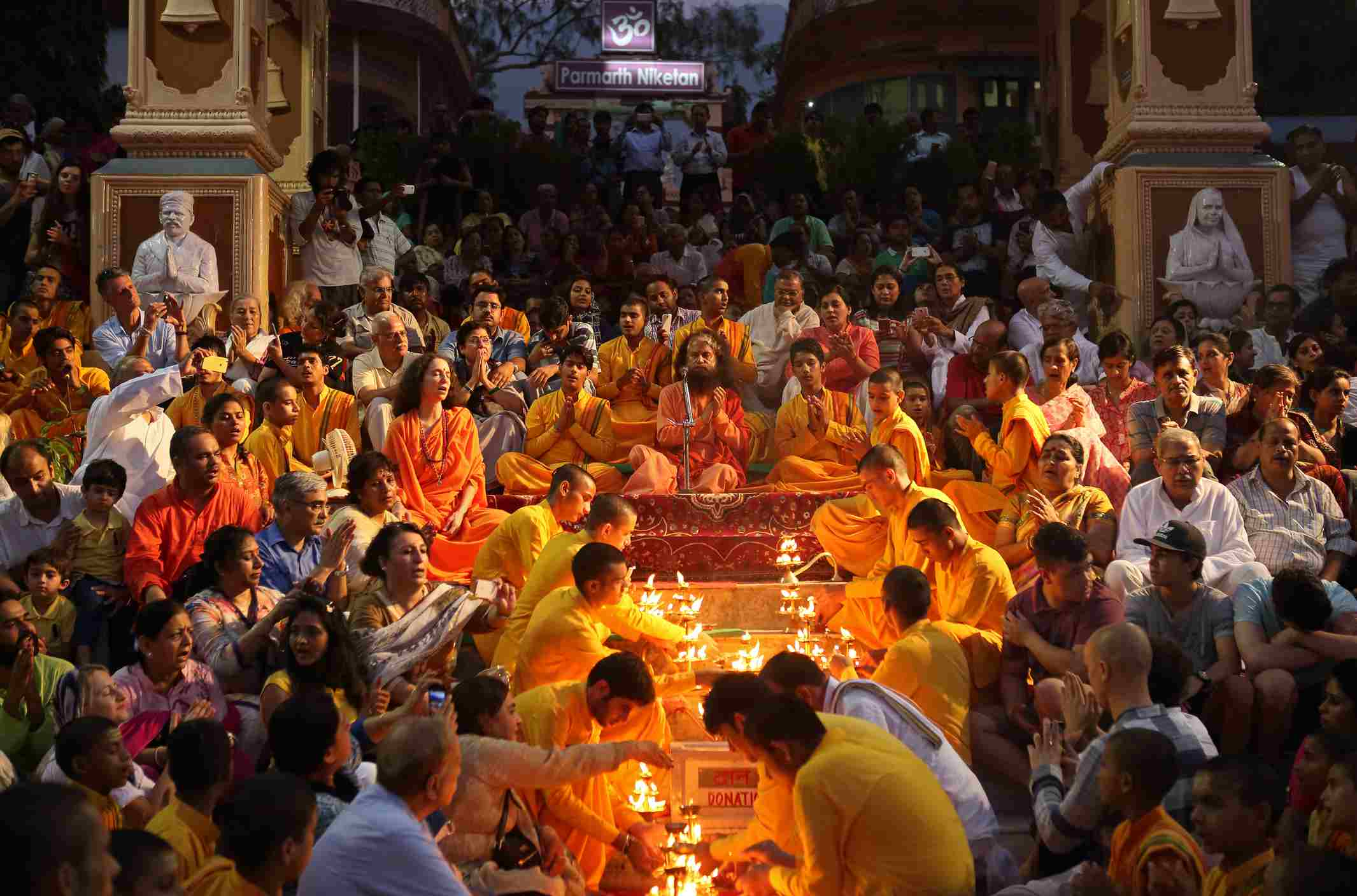 Ganga Aarti Ceremony in Haridwar