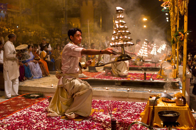 Ganga Aarti in India