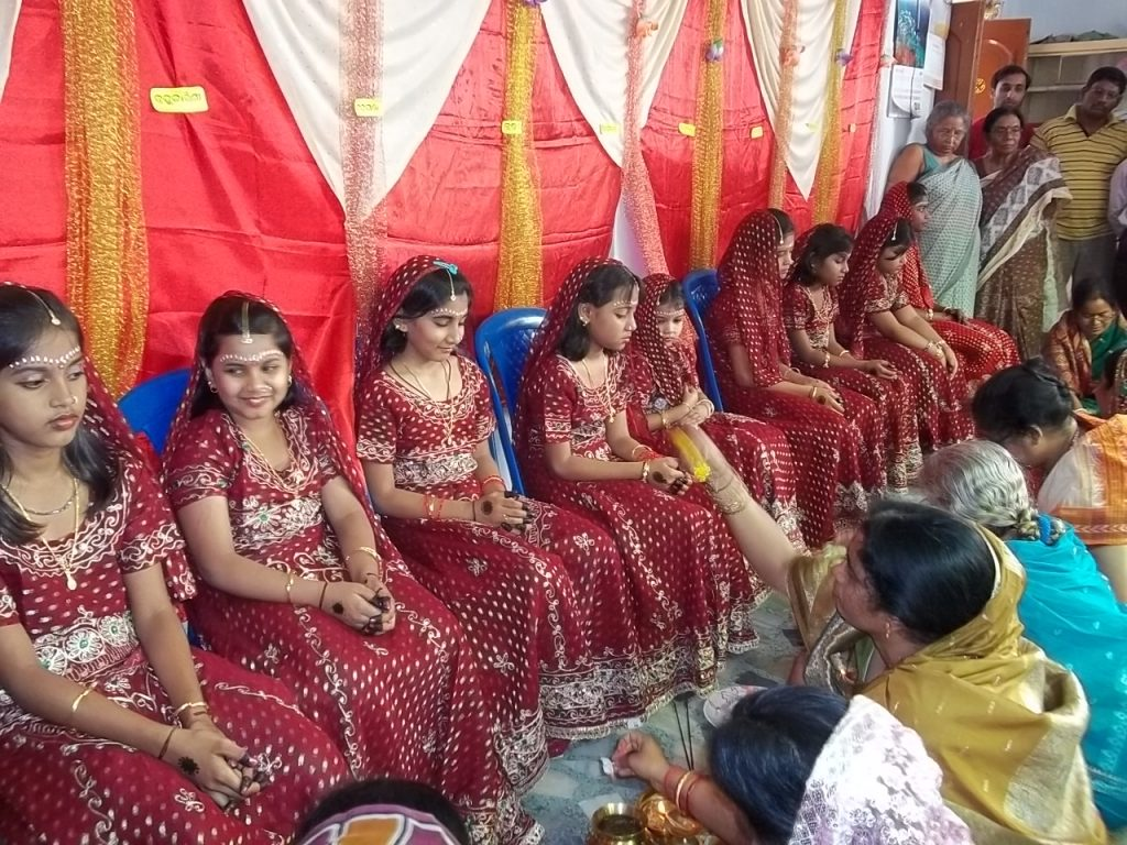 Navratri is celebrated in India