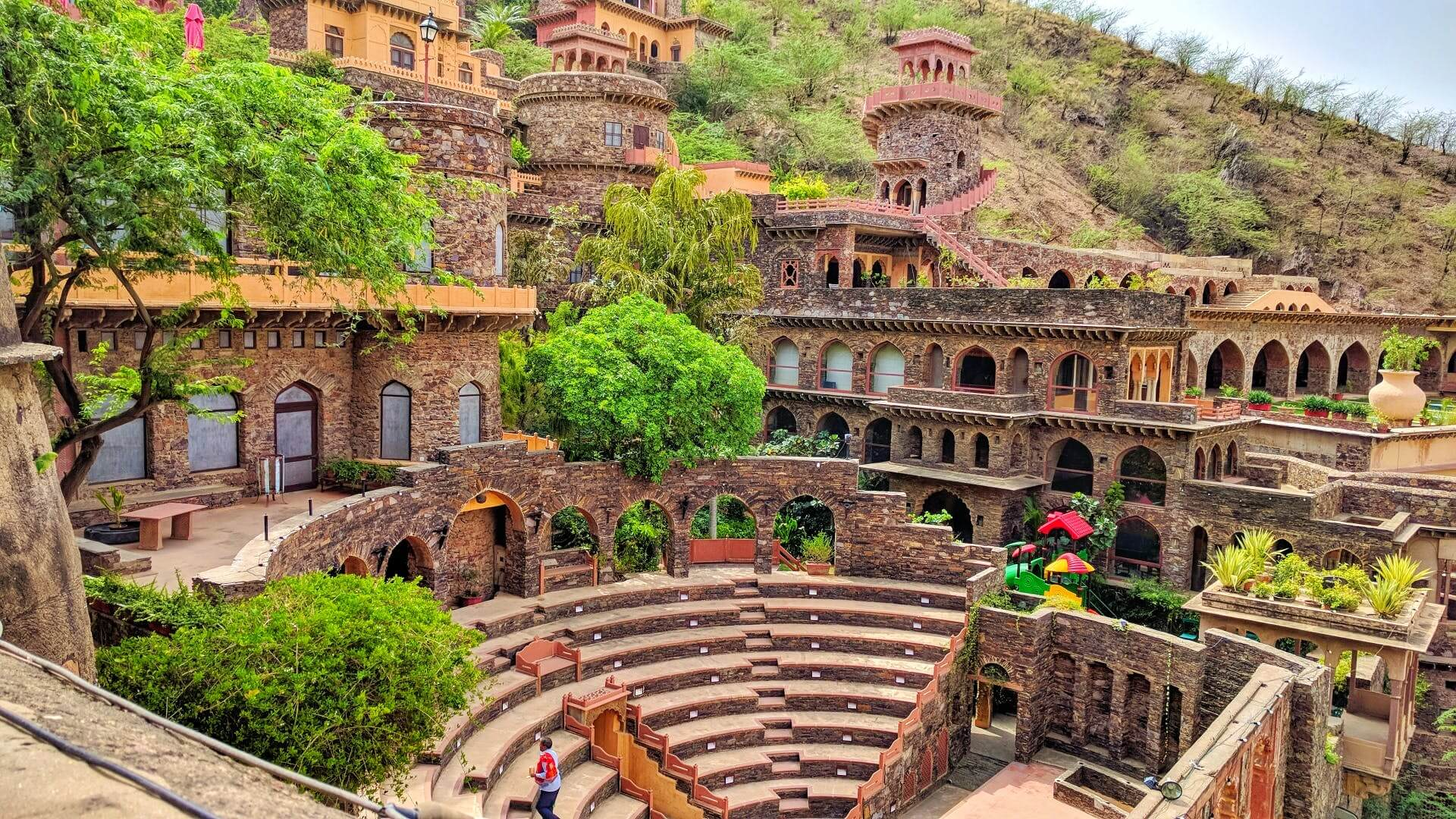 Neemrana Fort Palaces