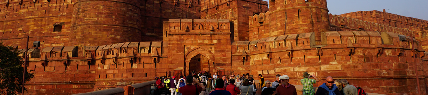 Red Fort Agra Info