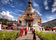 Historical places in Bhutan