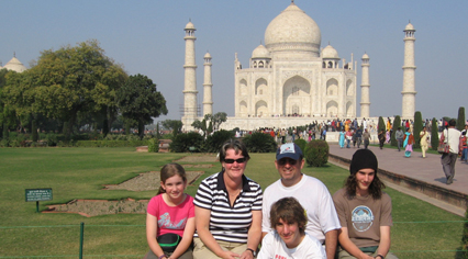 Family Holiday in Agra