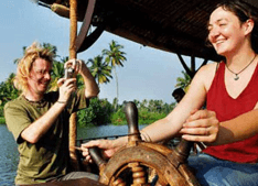 Honeymoon in Houseboat of Kerala