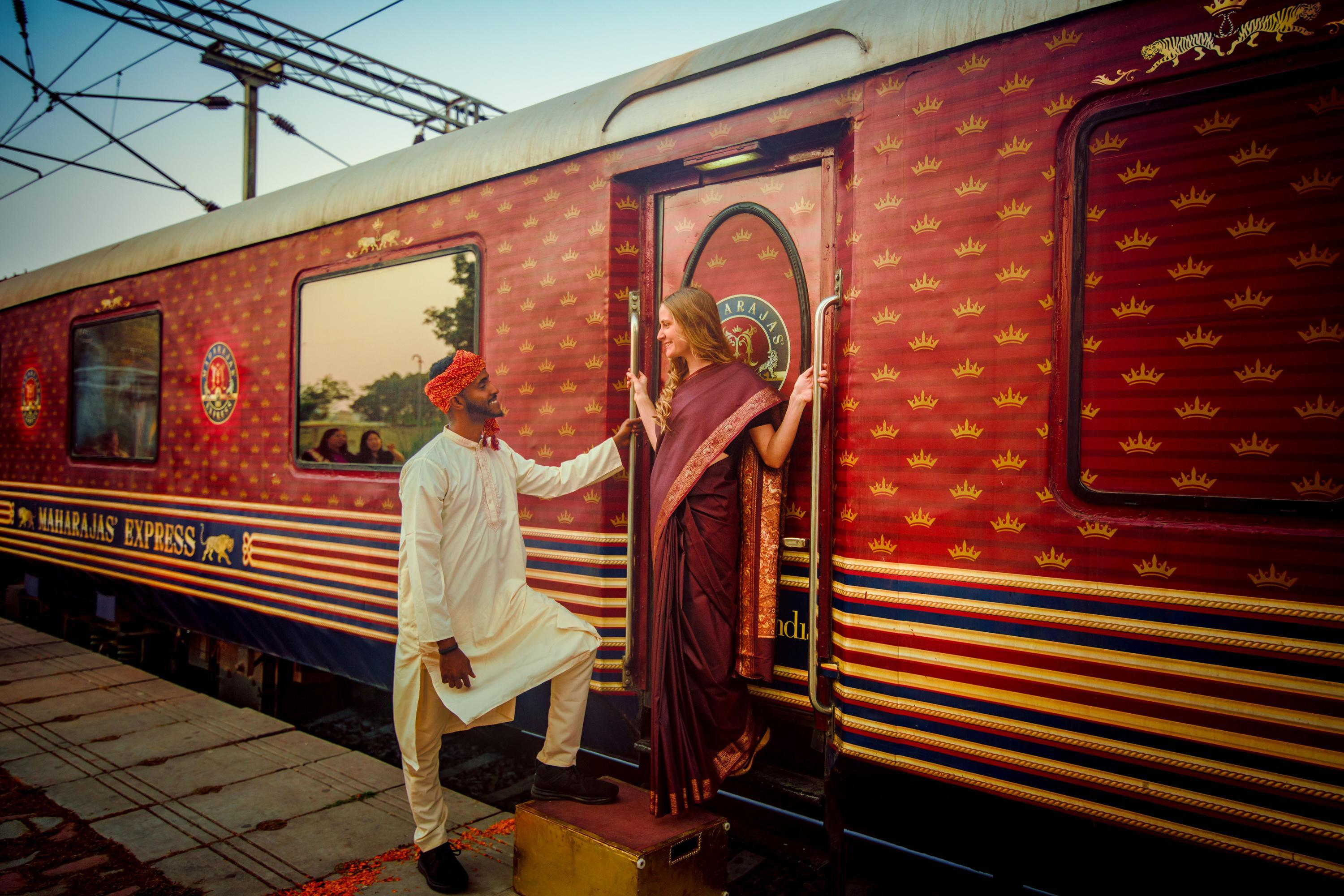 Luxurious Train Journey in India
