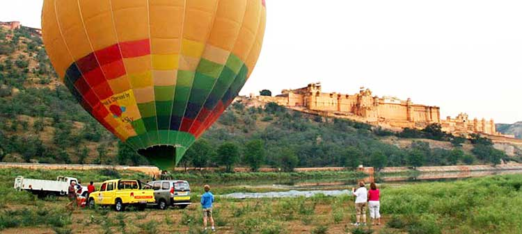 Hot Air Balloon Safari, jaipur Rajasthan
