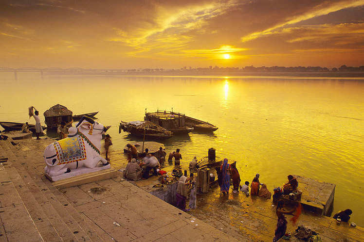 Sunset at Ghats