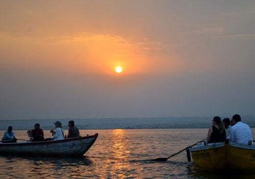 Boat Ride at River Ganga