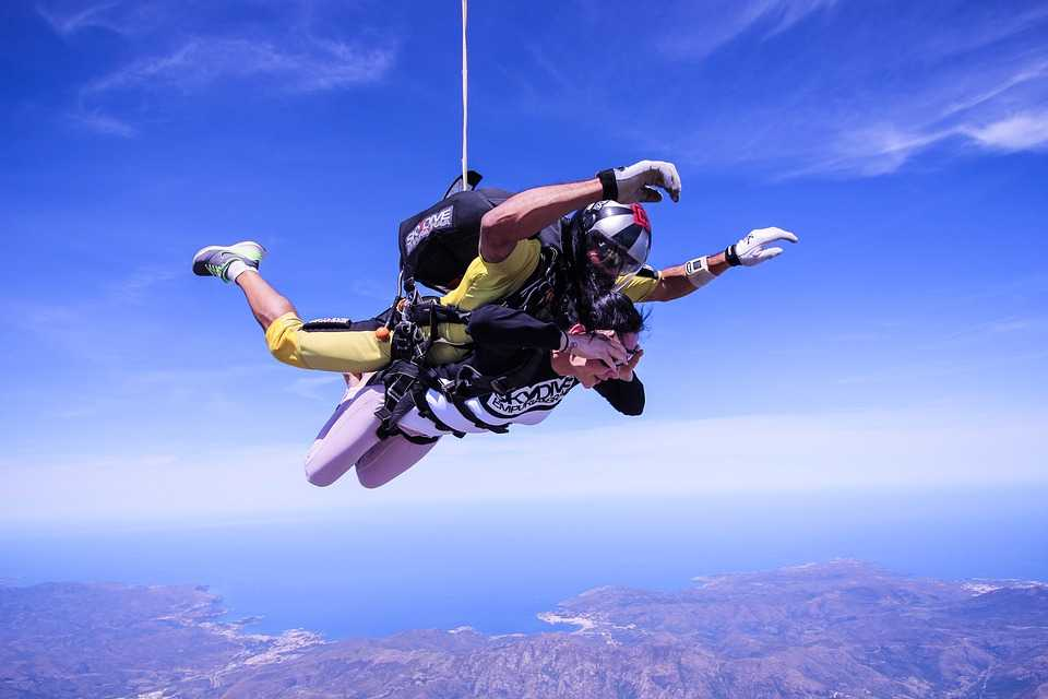 Top Famous Places for Skydiving in India