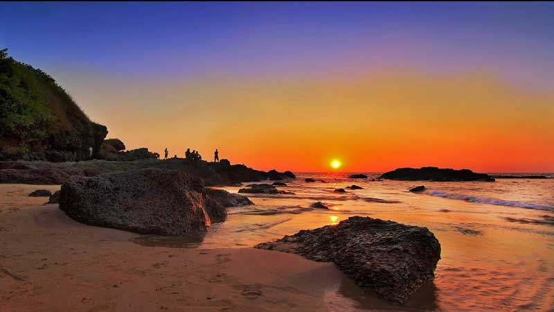 Famous Sunset Points in Goa